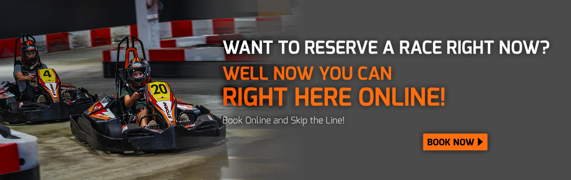 Online booking at High Voltage Indoor Karting, near me in Cleveland, Ohio